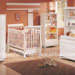 wooden baby crib,baby cot with drawer-UC-WBB01 Baby crib