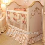 European Styled and American Styled Luxury Solid Wooden Baby Crib--BG700002-BG700002