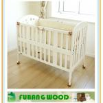 Latest design wood baby crib designs-A00A08
