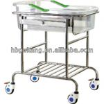 hospital baby cot Stainless steel infant bed(Tiltable) B-36-B-36