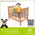 Safety Green bamboo baby bed-TH-B1002