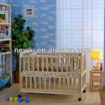 multifunction wooden baby crib approved FSC-NNL-8009