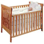 Safe and stylish wooden baby crib/ baby cot-