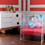 wholesale modern clear acrylic Baby Crib,Lucite baby cradle from china factory-acrylic Baby Crib 0103