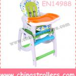 3 in 1 Baby high chair with table,rocker-022