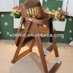 WSY-B93 wooden folding baby chair-WSY-B93