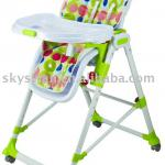 New!!! Adjustable feeding baby high chair 339/green-339