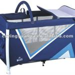 New design folding aluminum baby playpen with top quality-LG02-1