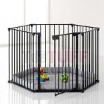 Childcare Baby Universal Safety Gate Fire Hearth Multi Function Playpen-TASM004