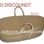 Stocked Bassinet Basket with Big Discount-HXLQY-100