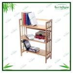 3-tiers Bamboo decorative cheap bookcases-EHA130813B