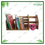 Wonderful Nature luxury movable bamboo bookshelf-EHL130718L
