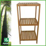 3 tiers bamboo shelf in Living room-AS9117