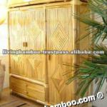 BIG THREE DOOR BAMBOO WARDROBE-WA-001