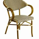 2011 new style bamboo look rattan garden furniture chair-CHS-6046-BF