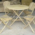 CHEAP BAMBOO TABLE CHAIR SET-GGN