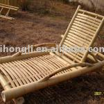 Natural bamboo chair for home or garden use-HL-BHCR01