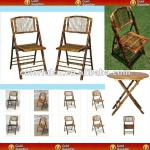 Popular Folding Bamboo Chair And Table-62100