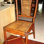 Batik Bamboo Chair-