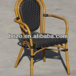 aluminum furniture outdoor/ bamboo restaurant chairs-