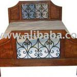 WOODEN BED-