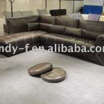 Excellent real leather sofa-DN2012