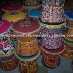 INDIAN TRADITIONAL HANDMADE EMBRIODERY PUFF-PF-29