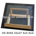 bamboo library book rack-HX-8049