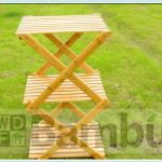 3 Tier - 100% Bamboo Foldable Shelf-