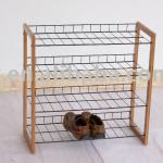 bamboo shoe rack,bamboo shoe shelf-RBR-201.