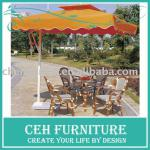 Hot outdoor furniture wood table and chair (DH-9518)-DH-9518,Table:DH-9518 Chair:DH-9518 Umbrella:DH-10