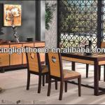 2013 New Six Seat Dining Table Chairs Set-BB-010