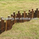 low bamboo fence-