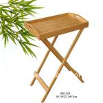 multi-functional bamboo breakfast table,bamboo products-RBK-034