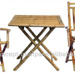 BFS-13012 - Wholesale bamboo furniture - Bamboo Dining Table Set-BFS-13012