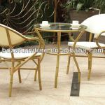 Leisure garden Outdoor furniture dining set bamboo-like chair-SB003