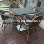 2013 imitation bamboo chair/poly bamboo chair/coffee chair/coffee table