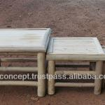 BFS-13025 - Vietnam Bamboo Furniture - Set of 3 Bamboo Chairs-BFS-13025