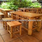 BINH QUOI 2 SET BAMBOO GARDEN FURNITURE-