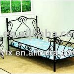 High Quality Black Children's Beds-YLX-9011