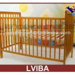 2013 The Wood Double Bed Designs,Wooden Bed,Baby Wooden Cot-LVIBA05