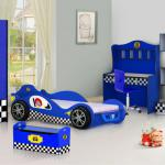 SMART KIDS bedroom set 992-01 Racing Car color bedroom furniture for boys-992-01