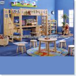 Kids 2012 wooden furniture bunk bed-SP-C204