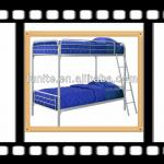 classic romantic design and factory price metal bunk bed for modern bedroom-BED-M-64