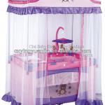 New arrival folding baby bed with EN716 certificate-H02-3