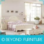 Modern White Kid Queen Bed-BYD-CF-909