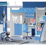(blue dragonfly)bunk bed-9831A#-9831A#