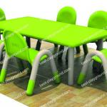 Kids furniture\ 6 children plastic table-MF094