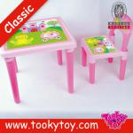 Plastic Children Tables and Chairs Set-TKB649