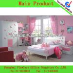 modern design kids bedroom furniture children furniture for girls teen bedroom set-FL-BF-0428